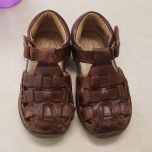 Real leather Stride Rite boys sandals